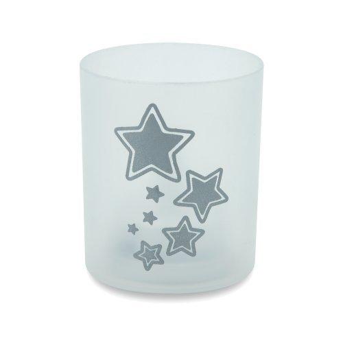 eBuyGB vlamloze LED Star Design theelichtkaars, 24,5 x 9,2 x 3 cm