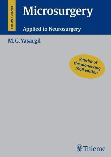 Microsurgery: Applied to Neurosurgery PDF Books