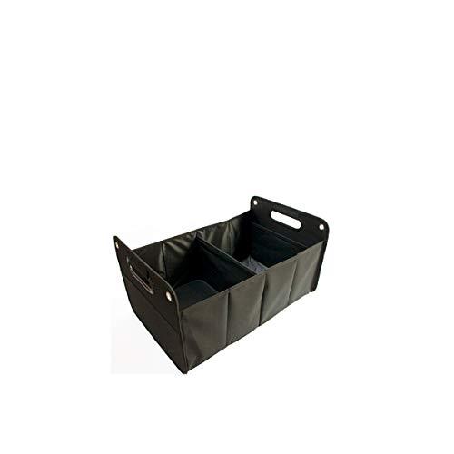 Projects Kofferraumtasche - Faltbare Autotasche - Kofferraum Organizer - Auto Faltbox - Faltkorb Falt-Box (schwarz)