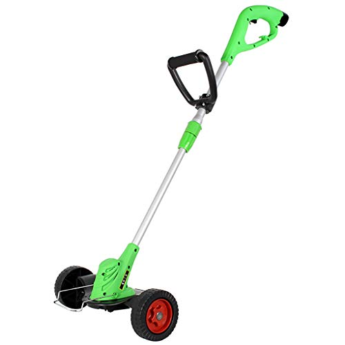 Best Deals! Wheel Roller Lawnmower Cordless Grass Trimmer, Powerful Lightweight Bionic Trimmer with ...