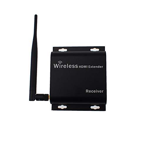 HY01 HD Funkübertragungssystem Funk-HDMI-Extender Sender Empfänger Video WiFi 50-200m Funk-HDMI-TV-Sender - Schwarz