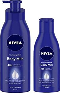 Nivea Nourishing Body Milk Lotion (Pack Of 2)