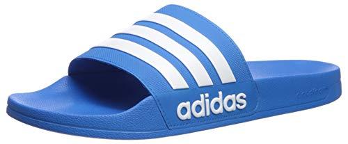 adidas Herren Adilette Shower Slipper, Blau 472, 52 EU