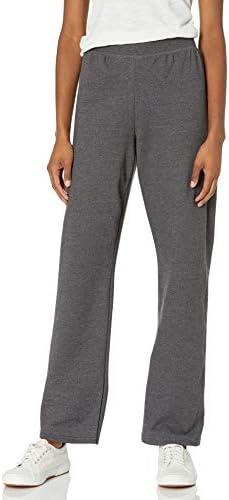 Hanes Women s Petite Length Middle Rise Sweatpants XX Large Slate Heather product image