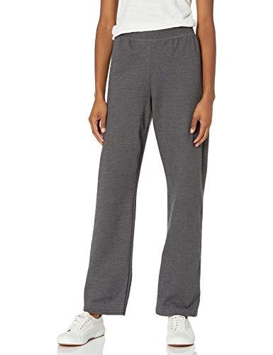 Hanes Women's Petite-Length Middle Rise Sweatpants - Medium - Slate Heather