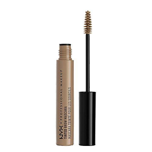 NYX Professional Makeup Tinted Brow Mascara, Getönte Augenbrauen-Mascara, Augenbrauenfarbe, Cremige Gel-Textur für volle, geformte Brauen, 6,5 ml, Farbton: Blonde