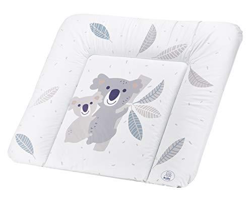 Rotho Babydesign Aankleedkussen In Gebreide Look, Vanaf 0 Maanden, Limeted Edition Wit Met Koala