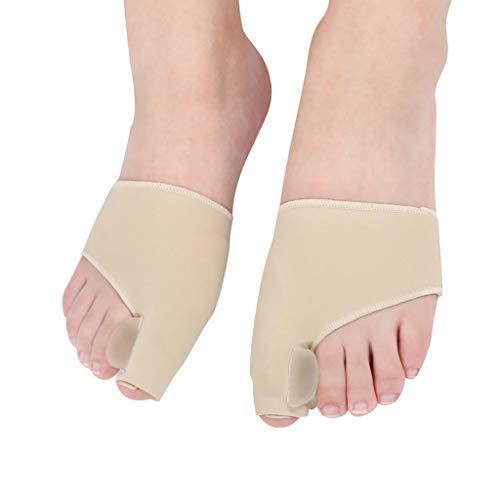 Viñedo Fibra elástica Gel Pulgar Bursitis eversión Dedo del pie Cuidado pie Grande Aparato for Huesos