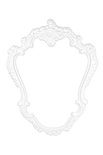 Stuck Frame | voorgegrond slagvast polyurethaan | Afbeeldingen en spiegel | Barok | versiering | PU | Hexim Perfect | 905 x 694 mm | K1019