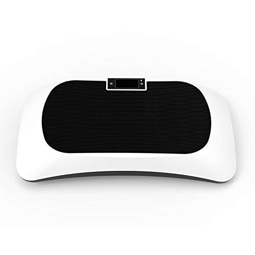 ZHYJJ 3D Dual-Motor Vibrationsplatte Mit Bluetooth 4.0 Lautsprecher | Oszillation Und Vibration | Ultimatives Fitnessgerät Für Fettabbau Und Gewichtsreduzierung