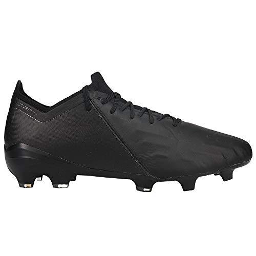 PUMA Mens Ultra 1.1 Leather Firm GroundArtificial Grass Soccer Cleats - Black - Size 11 D