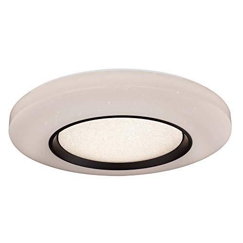 Lámpara de techo LED, efecto de estrellas, mando a distancia, regulable, luz nocturna, 70 cm