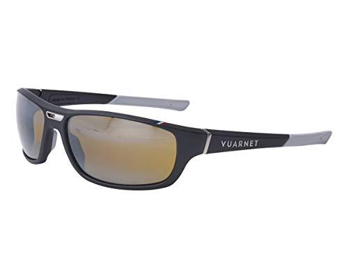 Vuarnet VL-1918 0002-7184 - Occhiali da sole nero opaco - marrone - a specchio