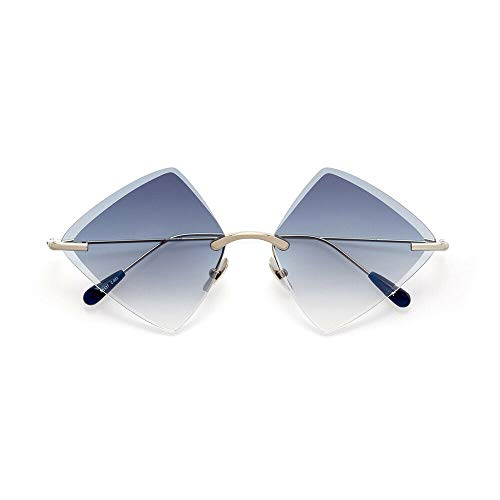 KALEOS Monroe 3 Titanium Silver Blue Gradient 59 New