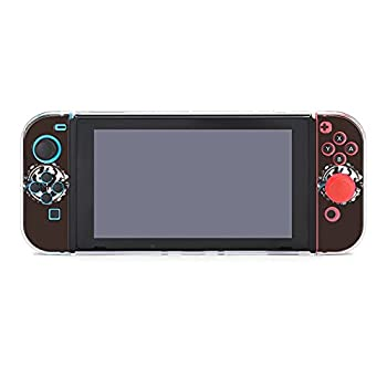 Hollow Knight 5 Dockable Case Compatible with Nintendo Switch Hard PC Clear Cover with Shock-Absorption and Anti-Scratch Design Protective Case