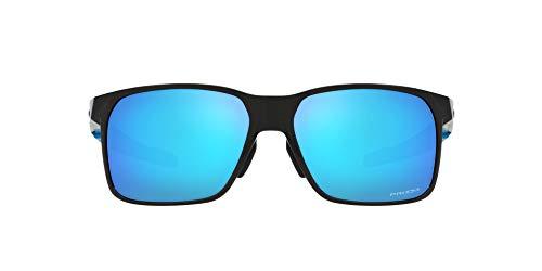 OO9460 Portal X Sunglasses, Polished Black/Prizm Sapphire, 59mm