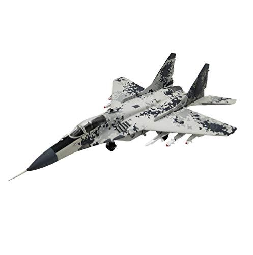 X-Toy Military Fighter Puzzle Model Kits, 1/32 Scale Soviet MIG-29SMT Fulcrum Fighter Modelo De Plástico, 21.1 Pulgadas X 14 Pulgadas