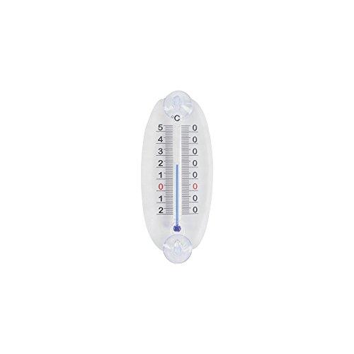 JAG DIFFUSION STIL Thermomètre fenêtre, Transparent, 10 x 150 x 63 cm