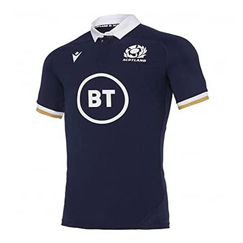 Camiseta De Rugby, Camiseta De Hombre Sru M20 SS Sr Escocia Rugby...