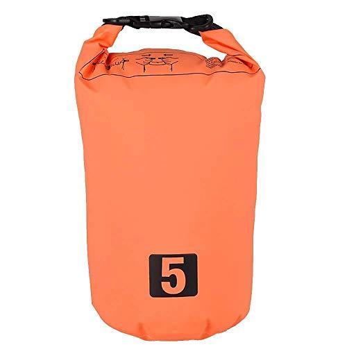 Wasserbeutel wasserdichte Packsack mit Schultergurt Leichte Sack Kayak Segeln Angeln Camping Float Kanu (Color : Schwarz, Size : 20L)