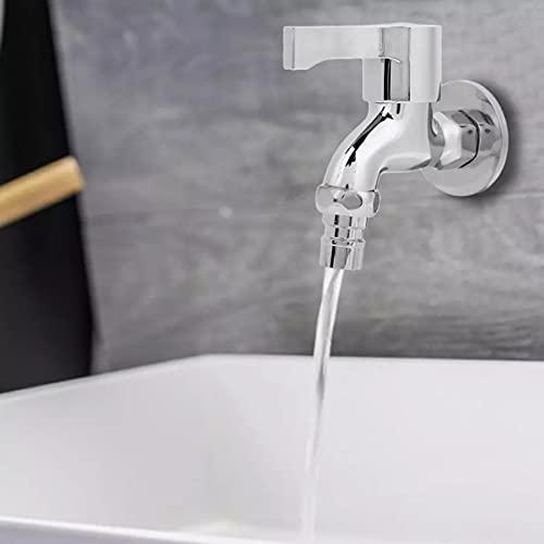 G1 / 2 pulgadas grifo de agua montado en la pared cobre lavadero baño grifo de lavadora grifo frío individual