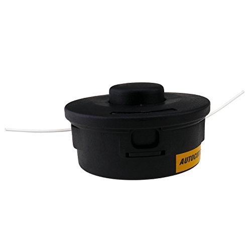Micro Traders Petrol Strimmer Bump Feed Line Spool Brush Cutter Grass Replacement Trimmer Head
