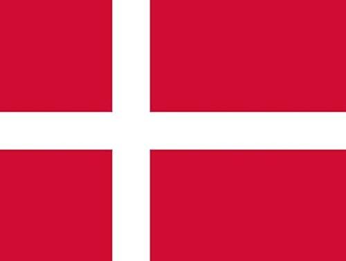 Qualitäts Fahne Flagge Dänemark 90 x 150 cm mit verstärktem Hissband