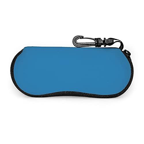735 Caja De Almacenamiento De Gafas Printtide Azul Caja De Gafas Fácil De Cargar Gafas De Lectura Gafas Cuadro Linda Gafa De Sol Bolsa Para Dinero, Cosmético, Joyas, Tarjetas