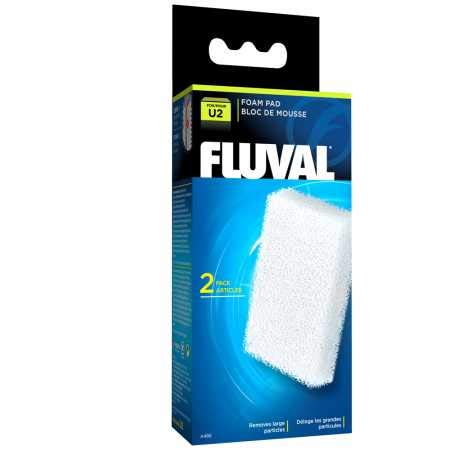 Fluval Carga Filtro, U2, 2 Unidades