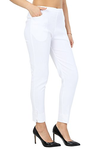 Istyle Can Fashionable Cotton Lycra Stretchable Slim Fit Straight Casual...