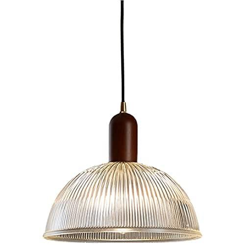 Cubierta de cristal de cristal manual de la luz del techo con arcos redondos de la lámpara de arco redondo con pinchos de madera maciza de la lámpara colgante de la lámpara del pueblo de la isla de la