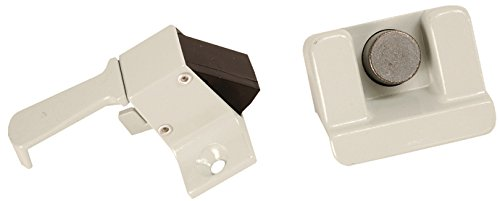 RV Designer E309, Folding Coleman Camper Trailer Screen Door Latch, Entry Door Hardware