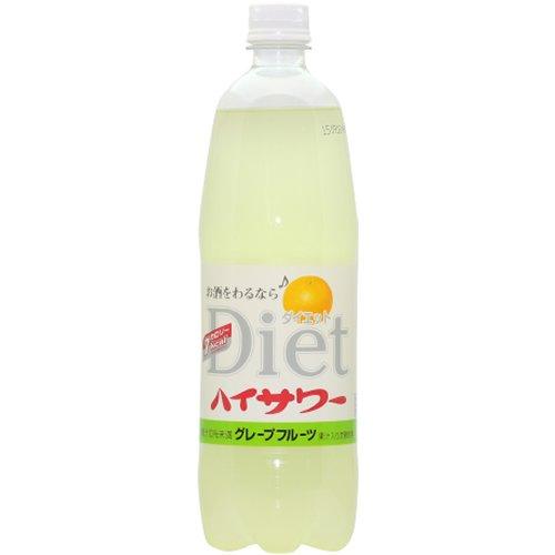 博水社 ハイサワー ダイエット グレープフルーツ ペット 1L