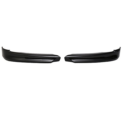 Pre-painted Front Bumper Lip Compatible With 2005-2008 BMW E90 3-Series, Factory Style Jet Black #668 PP Front Lip Finisher Under Chin Spoiler Add On other color available by IKON MOTORSPORTS, 2006