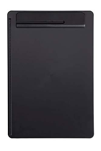Schreibplatte Maulgo Uni, Klemmbrett, DIN A4 hoch, Papieranschlag, Kunststoff, 8 mm Klemmweite, Schwarz