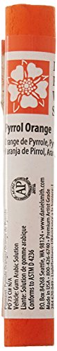 Daniel Smith 284670049 Extra Fine Watercolor Stick 12ml Paint Tube, Pyrrol Orange