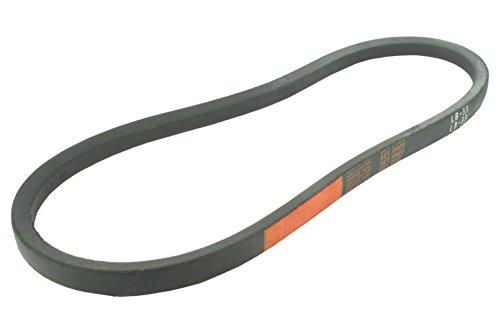 Greenstar - LB38 - Courroie lisse trapézoïdale série LB (section 16,5x9,5mm) Longueur ext: 38'.