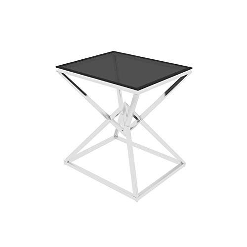 Home-table Konsolentische, Quadratisch Verspiegelte Nachttische Firm Leicht Zu Reinigende Beistelltische Schlafzimmer Einfache Schminktische Größe: 50 * 40 * 58CM(Color:#2)