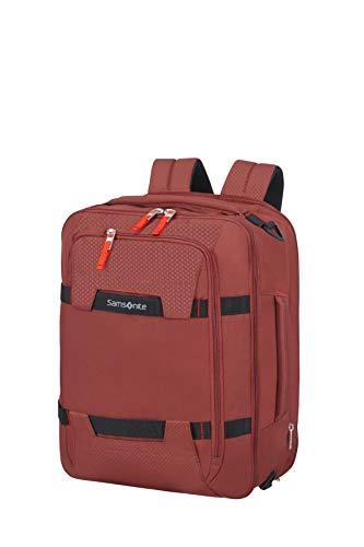 Samsonite Sonora - 15.6 Pollici Espandibile 3-Way Borsa a Tracolla, 43 cm, 28/32.5 L, Rosso (Barn Red)