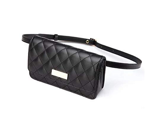 SJBB Taille pack Gewatteerde Riem Wrapper portemonnee Dames Pocket Bag Merk Zakken Zwarte Zakken Mini Bag
