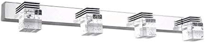 ERNTOGO Hohe Leistung LED-Spiegel-Frontseiten-Licht-Moderne minimalistische Badezimmer-helle Kristalllampen-Schlafzimmer-Badezimmer-Beleuchtung-dekorative Wand-Lampe Energie-Effizienzklasse A +
