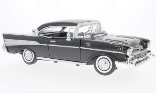 Chevy Chevrolet Impala Cabrio schwarz 1958 1:24 Motor Max Modellauto