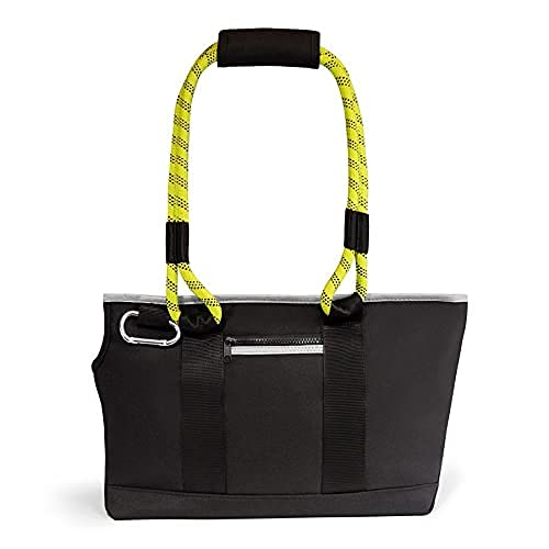ROVERLUND Commuter-Style Pet Tote. Ergonomic Neck Scoop. Built -in Leash Clip. Stylish. Comfortable. Durable. Two Sizes accommodate Pets up to 30lbs.