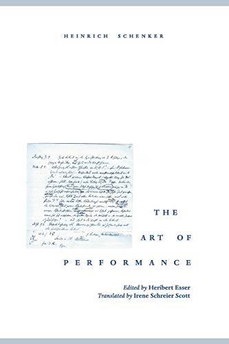 The Art of Performance