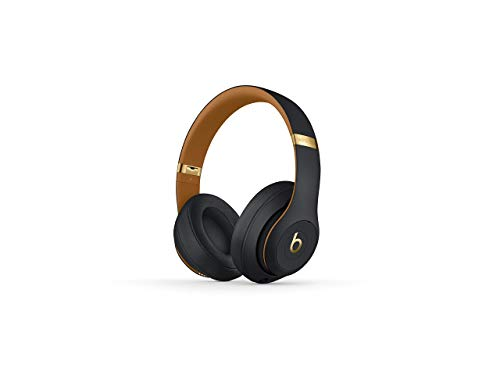 Beats Studio3 Wireless Over-Ear Headphones – The Beats Skyline Collection - Midnight Black (Renewed)