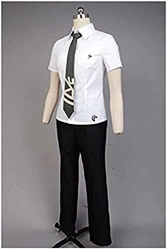 Generic Disfraz de hajime hinata de alta escuela, cosplay, disfraz de uniforme cosplay, camiseta con pantaln y corbata, unisex, talla S