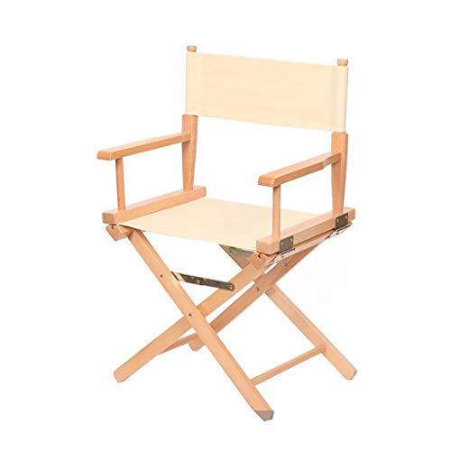 Vaiy cosmeticastoel, inklapbaar, stoel van hout, cosmeticastoel, poten van stevig hout, kort