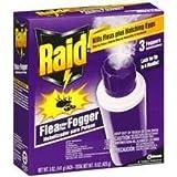 Best Flea Bombs - Raid Flea Killer Plus Fogger 3 CT, 5 Review