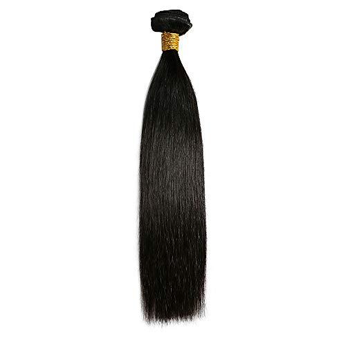 1 trame de cheveux humains Tres Jolie Remy Yaki 10 50,8 cm Couleur 2 marron foncé