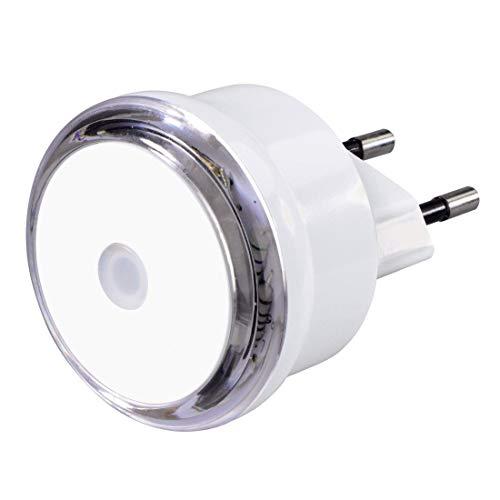 Hama Led-nachtlampje (schemeringssensor, energiebesparend oriëntatielicht voor het stopcontact, slechts 0,8 W)